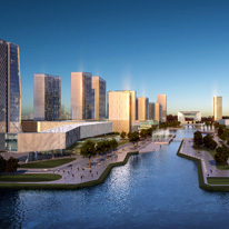 Kunshan Financial Centre Urban Design